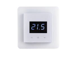 Z-Wave Domotica Control Z-Wave thermostaat (inbouw) | RAL 9003 Wit